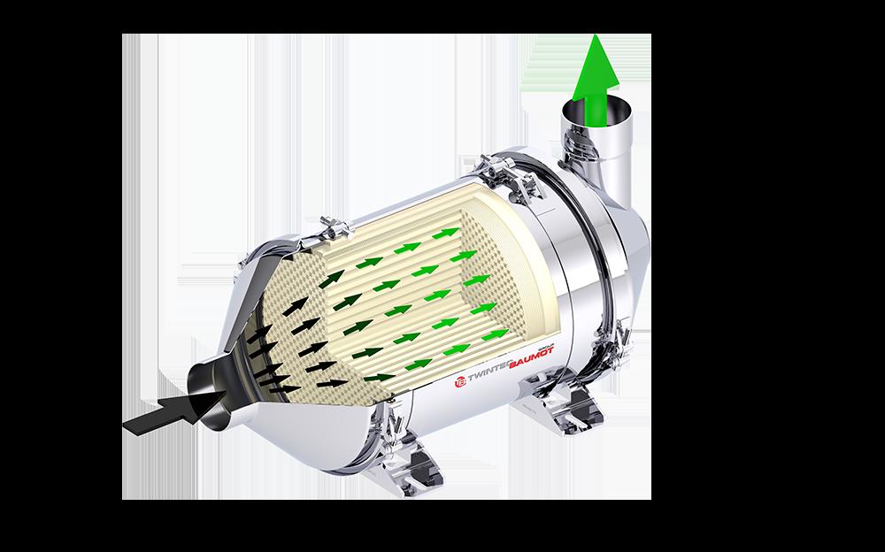 Dieselpartikelfilter BA