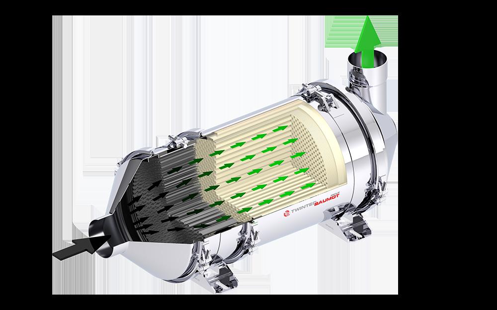 Dieselpartikelfilter BAB