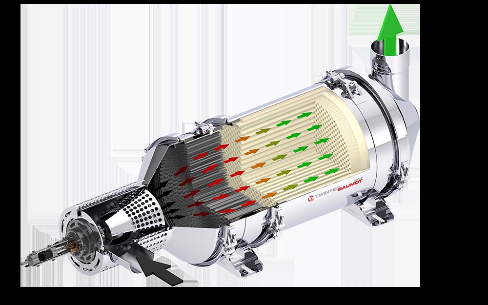 Dieselpartikelfilter Flame