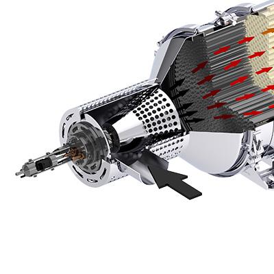 Dieselpartikelfilter DPF-Flame